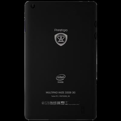Планшет Prestigio MultiPad Wize 3308 3G 8GB Black 4