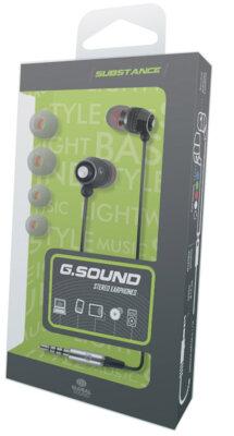 Наушники Global G.Sound С011Bk Black 2