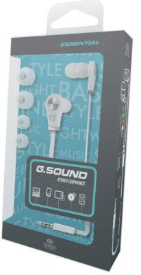 Навушники Global G.Sound A0105Wt White 2