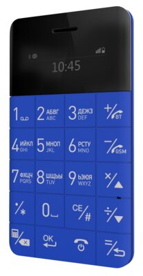 Мобільний телефон ELARI CardPhone Blue (LR-CP-BL) 1