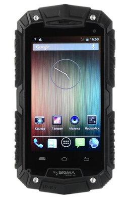 Смартфон Sigma mobile X-treame PQ16 black 1