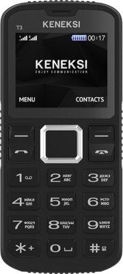 Мобільний телефон Keneksi T3 Black 1