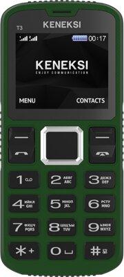 Мобильный телефон Keneksi T3 Green 1