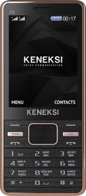 Мобильный телефон Keneksi X5 Black-Gold 1