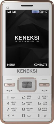 Мобильный телефон Keneksi X5 White 1
