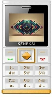 Мобільний телефон Keneksi Art White 1