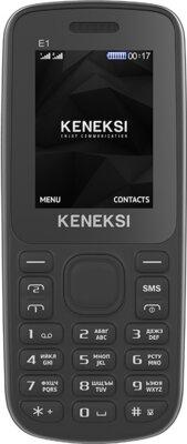 Мобільний телефон Keneksi E1 Black 1