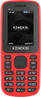 Мобільний телефон Keneksi E1 Red 1
