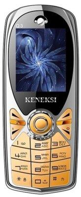 Мобильный телефон Keneksi Q3 Gold 1