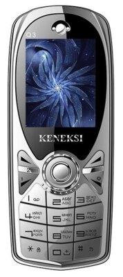 Мобильный телефон Keneksi Q3 Silver 1