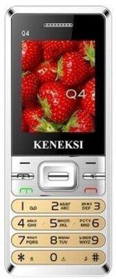 Мобильный телефон Keneksi Q4 Gold 1