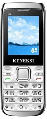 Мобильный телефон Keneksi Q5 Silver 1