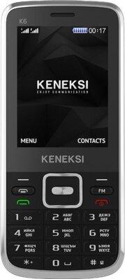 Мобильный телефон Keneksi K6 Black 1