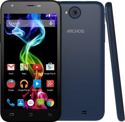 Смартфон Archos 50C Platinum Blue 2