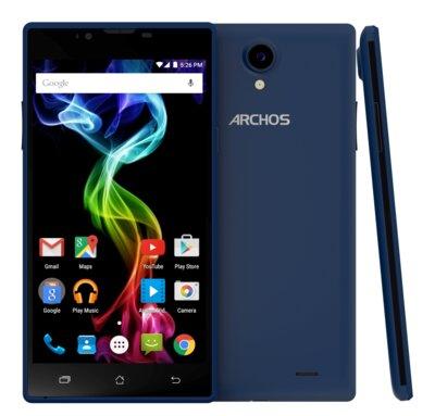 Смартфон Archos 55 Platinum Blue 4