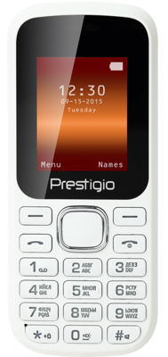 Мобильный телефон Prestigio 1180 Dual Sim White 1