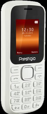 Мобильный телефон Prestigio 1180 Dual Sim White 2