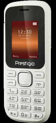 Мобильный телефон Prestigio 1180 Dual Sim White 3