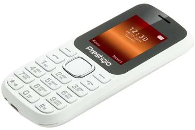 Мобильный телефон Prestigio 1180 Dual Sim White 6