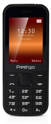 Мобильный телефон Prestigio 1240 Dual Sim Black 1