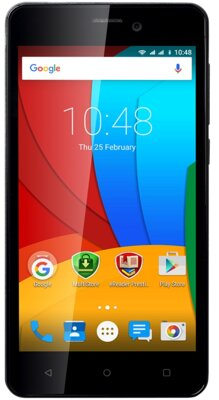Смартфон Prestigio MultiPhone 5502 Muze A5 Dual Black 1