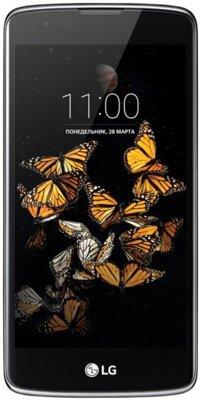 Смартфон LG K350E K8 LTE Black Blue 1