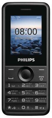 Мобільний телефон Philips Xenium E103 Black 1