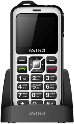 Мобільний телефон Astro B200 RX White 2