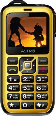 Мобільний телефон Astro B200 RX Yellow 1