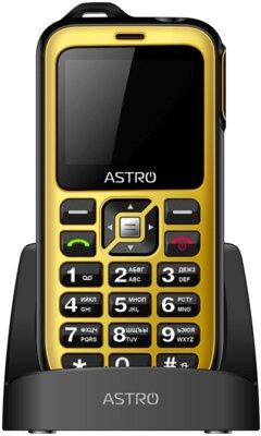 Мобільний телефон Astro B200 RX Yellow 2