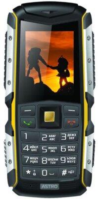 Мобильный телефон Astro A200 RX Blaсk-Yellow 1