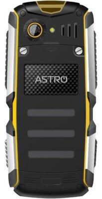 Мобильный телефон Astro A200 RX Blaсk-Yellow 2