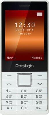 Мобільний телефон Prestigio 1280 Muze B1 Dual Sim White 1