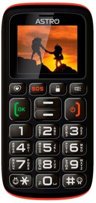 Мобільний телефон Astro B181 Black/Orange 1