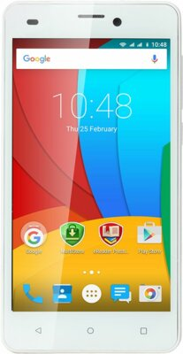 Смартфон Prestigio MultiPhone 3507 Wize N3 Dual White 1
