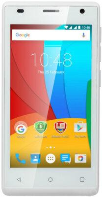 Смартфон Prestigio MultiPhone 3458 Wize O3 Duo White 1