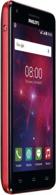 Смартфон Philips Xenium V377 Black Red 2