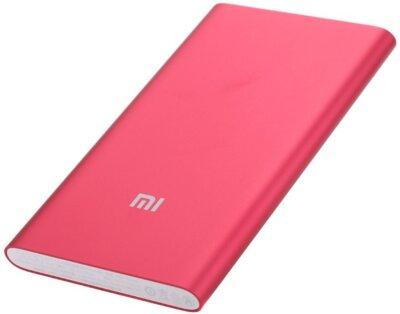 Мобільна батарея Xiaomi Mi Power Bank 5000 mAh Red 2
