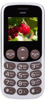 Мобільний телефон Nomi i177 Metal Brown 1