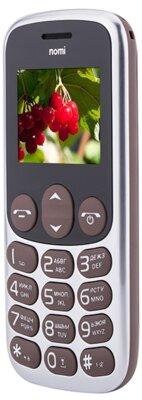 Мобільний телефон Nomi i177 Metal Brown 6