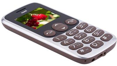 Мобільний телефон Nomi i177 Metal Brown 8