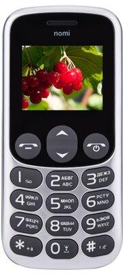 Мобильный телефон Nomi i177 Metal Grey 1