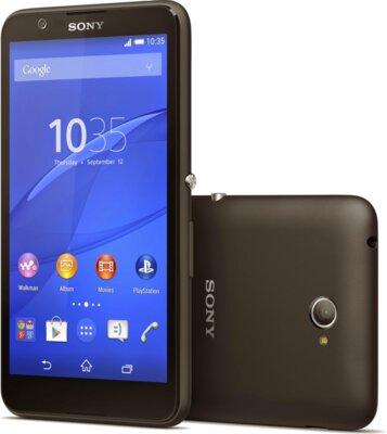Смартфон Sony Xperia E4 Dual E2115 Black 1