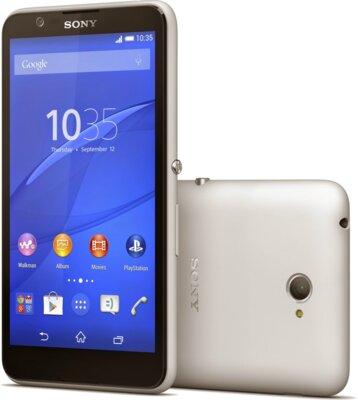 Смартфон Sony Xperia E4 Dual E2115 White 1