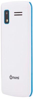 Мобильный телефон Nomi i243 White-Blue 5