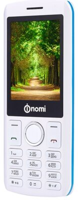 Мобильный телефон Nomi i243 White-Blue 6