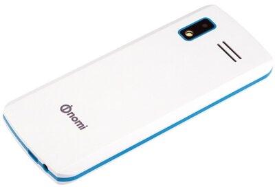 Мобильный телефон Nomi i243 White-Blue 9