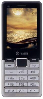 Мобильный телефон Nomi i241 Metal Steel 1