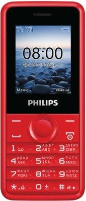 Мобільний телефон Philips Xenium E103 Red 1