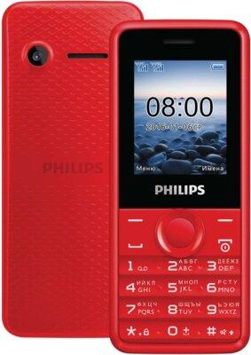 Мобільний телефон Philips Xenium E103 Red 2